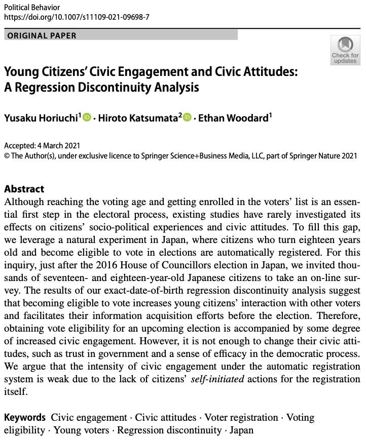 Published in Political Behavior
