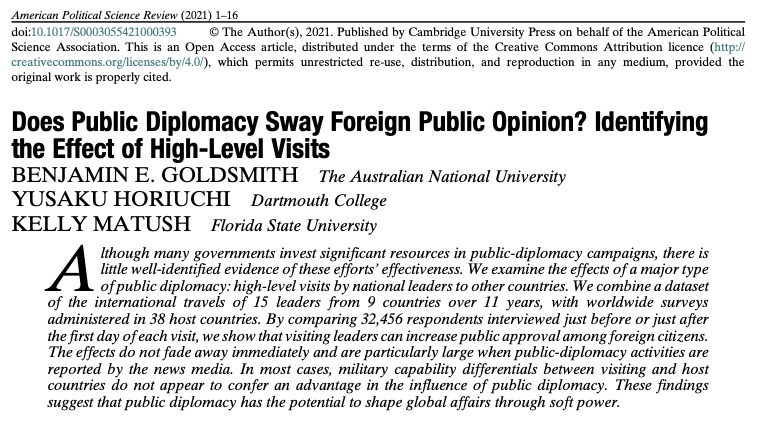 Published in American Political Science Review